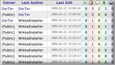 AdminPages screenshot