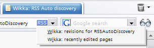 Opera autodiscovery button